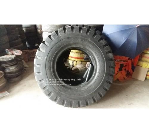 Lốp hơi 14.00-24-28PR Deestone Thái Lan cho Xe nâng hàng 20-23-24-25 tấn