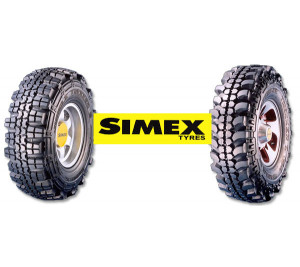 Lốp đặc 7.00-12 Simex Continental - Malaysia