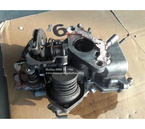 Bảo dưỡng vệ sinh bộ chế hòa khí Koshida Tec xe nâng xăng ga LPG