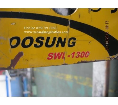 Sửa Chữa Xe Nâng Điện Soosung Hàn Quốc SWP-1300 Bị Cháy