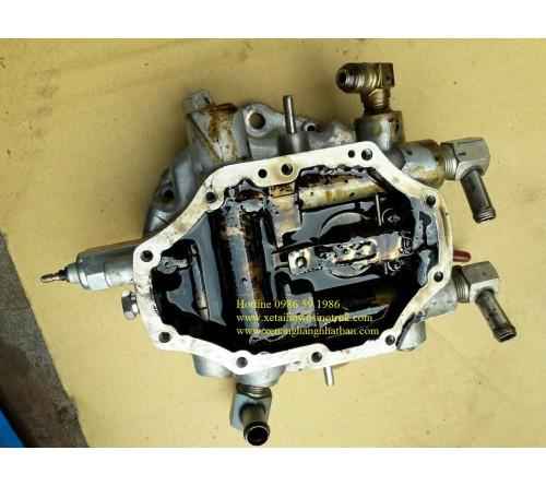 Thay thế bộ màng ga và vệ sinh bộ phối ga ( bộ phối khí ) Xe nâng hàng