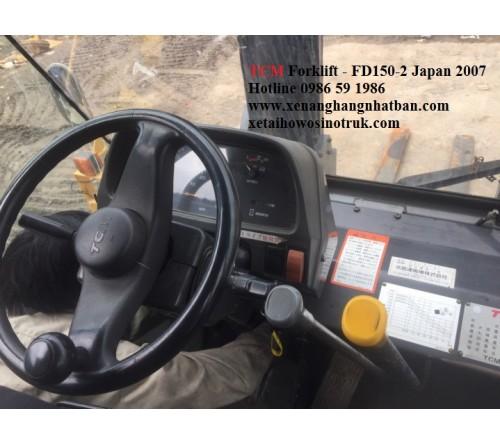 Xe Nâng 15 Tấn Cũ TCM 2007 - SX Nhật Bản