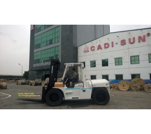 Xe Nâng 6 tấn - 7 tấn - 8 tấn - 10 tấn TCM Nhật Bản