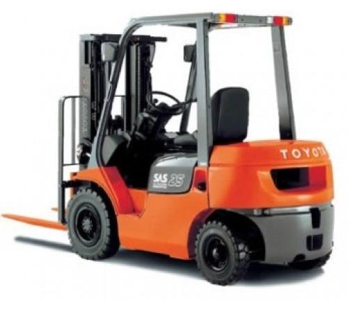 Xe nâng Toyota 5 tấn second hand