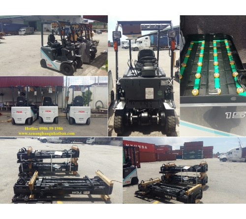 Xe nâng điện 1.5 tấn - 1.8 tấn - 2 tấn - 2.5 tấn - 3 tấn - 3.5 tấn (4 bánh). Model FB15/18/20/25/30/35S-8
