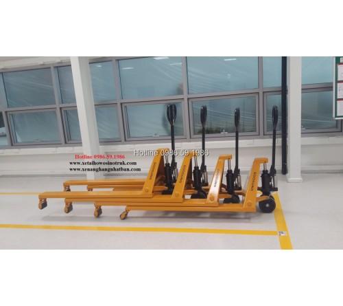 Xe nâng tay Soosung 1.5 - 2 - 2.5 - 3 tấn
