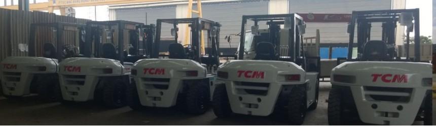 Bàn giao xe nâng 7 tấn cho khách hàng PTSC Vũng Tàu