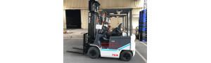 T8/2018 - Bàn giao xe nâng điện ngồi lái 2.5 tấn cho nhà máy Sữa Elovi Việt Nam tại Hà Nội