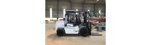 Bàn giao xe nâng 4.5 tấn và 5 tấn tại Vĩnh Phúc - T4/2018