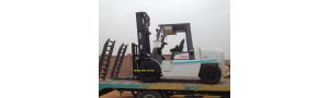 Bàn giao lô 10 xe nâng 4.5 tấn và xe nâng 5 tấn tại Phú Thọ & Vĩnh Phúc 2017-2018