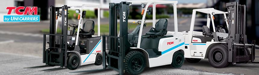 Xe nâng điện đứng lái TCM sản xuất tại Nhật Bản có mặt tại Việt Nam
