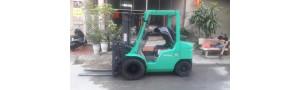 Xe nâng trong ngành sản xuất, chế biến, gia công gỗ tại Việt Nam