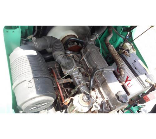 Xe nâng cũ 3 tấn Mitsubishi 4.3 mét chui công dịch giá 2011 - Model FD30NT - 7200h