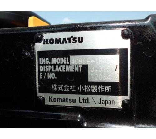 Xe Nâng Cũ Komatsu 3.5 tấn FD35AT đời 2012/9 - Số giờ đã chạy 66h