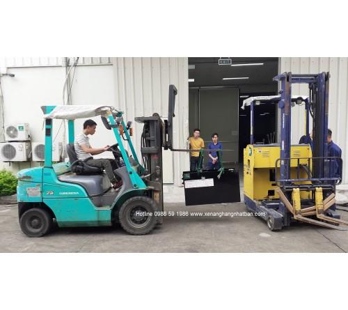 Ắc quy xe nâng 48V 220Ah - Bình điện xe nâng 48V 220Ah - Model VTIL220ML - Hitachi Nhật Bản - Sản xuất tại Thái Lan