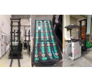 Ắc quy xe nâng 48V 280Ah - Bình điện xe nâng 48V 280AH - Model VSFL280 - Hitachi Nhật Bản - Sản xuất tại Thái Lan