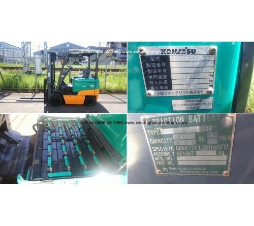 Ắc quy xe nâng 48V 400Ah - Bình điện xe nâng 48V 400Ah - Model VSDX400M - Hitachi Nhật Bản - Sản xuất tại Thái Lan