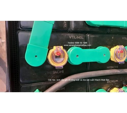 Ắc quy xe nâng 48V 445Ah - Bình điện xe nâng 48V 445AH - Model VTIL445L - Hitachi Nhật Bản - Sản xuất tại Thái Lan