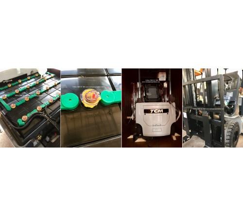Ắc quy xe nâng 48V 565Ah - Bình điện xe nâng 48V 565Ah - Model VSDX565MH - Hitachi Nhật Bản - Sản xuất tại Thái Lan