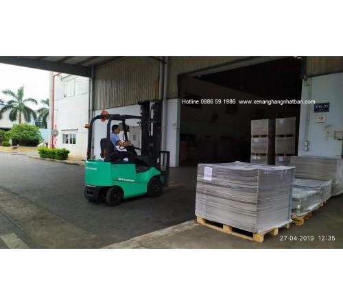 Cho thuê xe nâng hàng tại Hưng Yên