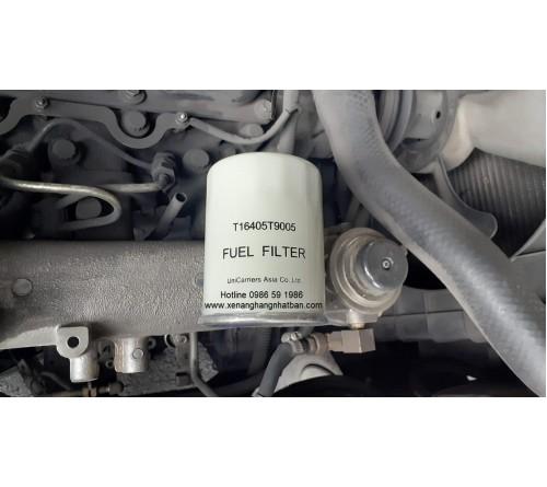 Lọc nhiên liệu T16405-T9005 chính hãng - Động cơ TD27 và động cơ QD32 - Xe nâng TCM