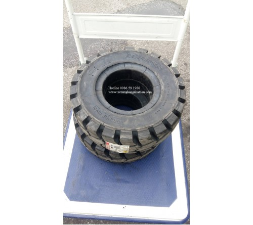 Lốp Đặc 18x7-8 Bridgestone Nhật Bản