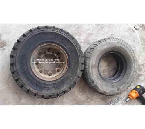 Lốp 6.00-9 Casumina - Lốp đặc - Sản xuất tại Việt Nam - Mới 100%