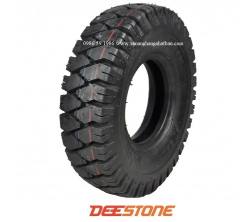 Lốp Deestone 5.00-8 - Lốp Hơi 500-8 - Lốp Hơi Xe Nâng 1.5 Tấn - Hãng Deestone Thái Lan