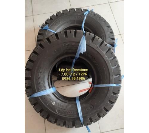Lốp Deestone 7.00-12 - Lốp hơi 7.00-12 - Lốp hơi xe nâng 2.5 tấn và 5 tấn - Deestone Thái Lan