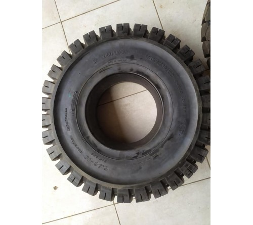 Lốp đặc 6.50-10 hãng DUNLOP - Thái Lan