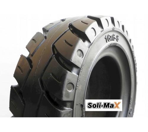 Lốp đặc 16x6-8 Soli Max - Sản xuất tại Sri Lanka - Mới 100%