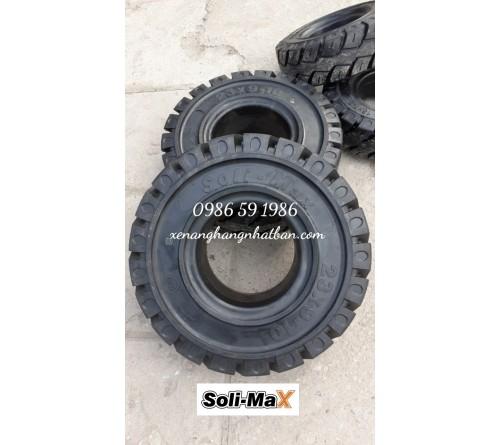 Lốp đặc 23x9-10 Soli Max - Sản xuất tại Sri Lanka - Mới 100%
