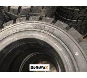 Lốp đặc 250-15 Soli Max - Sản xuất tại Sri Lanka - Mới 100%