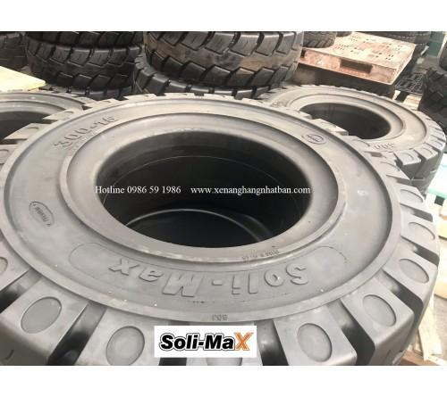 Lốp đặc 3.00-15 Soli Max - Sản xuất tại Sri Lanka - Mới 100%