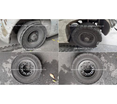 Hướng dẫn thay lốp xe nâng đúng cách - Quy trình thay lốp xe nâng đúng kỹ thuật