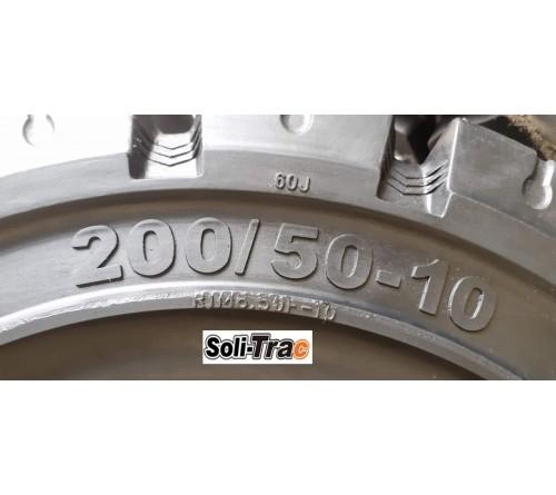 Lốp Đặc 200/50-10 Soli Trac - Sản Xuất Tại Sri Lanka - Mới 100%