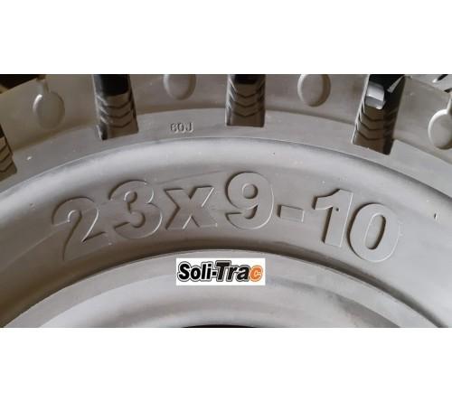 Lốp Đặc 23x9-10 Soli Trac - Sản Xuất Tại Sri Lanka - Mới 100%