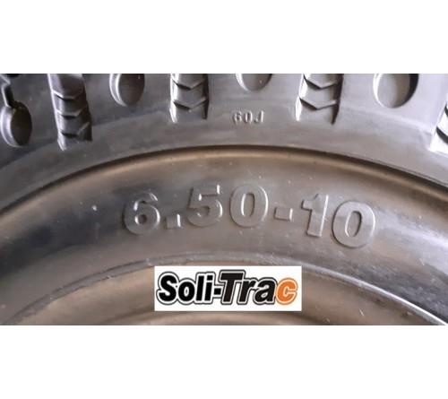 Lốp đặc 6.50-10 Soli Trac - Sản xuất tại Sri Lanka - Mới 100%