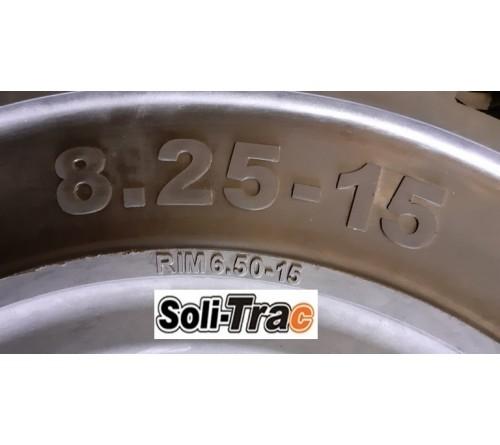 Lốp Đặc 8.25-15 Soli Trac - Sản Xuất Tại Sri Lanka - Mới 100%