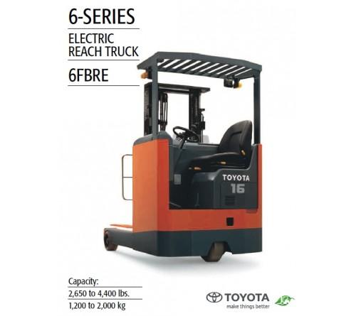 Bánh PU  Xe Nâng Điện Ngồi Lái Reach Truck Toyota 6FBRE12 - 6FBRE14 - 6FBRE16 - 6FBRE20