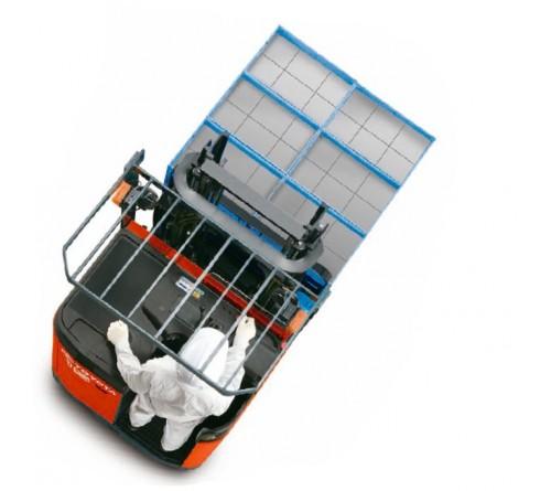 Bánh PU Xe Nâng Điện Đứng Lái Toyota 7FBR10 - 7FBR13 - 7FBR15 - 7FBR18 - 7FBR20 - 7FBR25 - 7FBR30