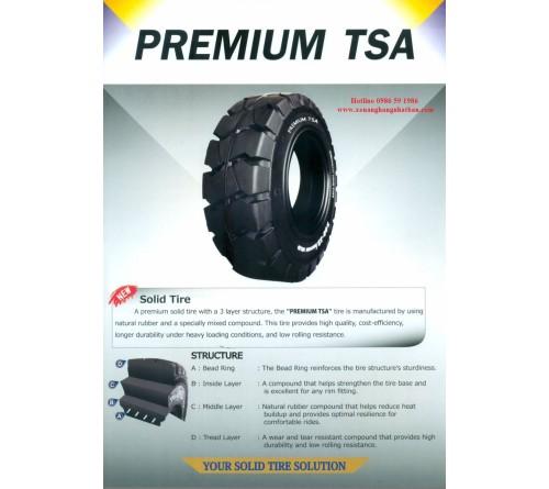 Lốp đặc 7.00-12 TSA Premium Thái Lan