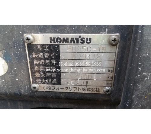 Sửa Chữa Đại Tu Phanh Xe Nâng Komatsu FD25C-15 Động Cơ 4D94E