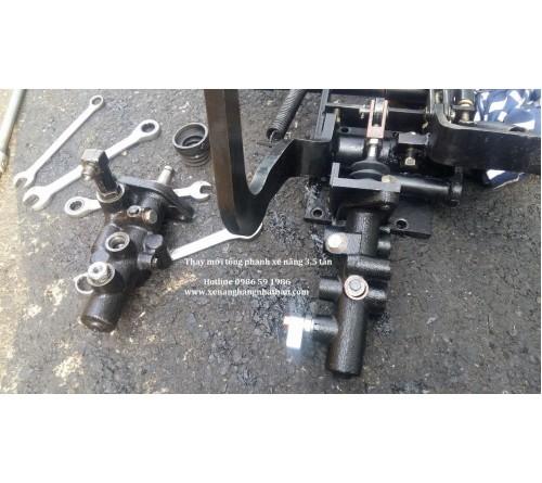 Tổng Phanh Xe Nâng, Tổng Côn Xe Nâng - Forklift Master Cylinder
