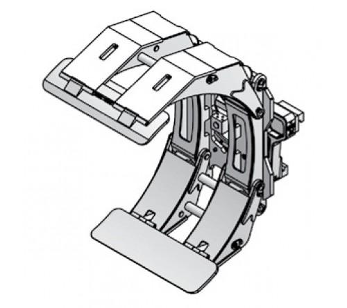 Kẹp tròn xoay - Kẹp giấy - Paper roll clamp - Kẹp cuộn tròn