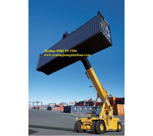 XE GẮP CONTAINER - REACHSTACKER TCM MR450