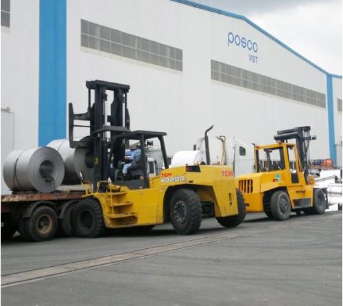 Xe Nâng 16 tấn - 18 tấn - 20 tấn - 23 tấn TCM Nhật Bản