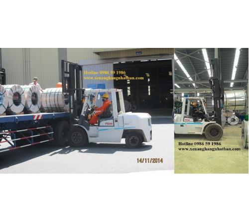 Xe Nâng 4 tấn - 4.5 tấn - 5 tấn TCM Nhật Bản