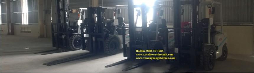 Bàn giao xe tại Nhà máy chế biến gỗ MDF Kiên Giang 2016