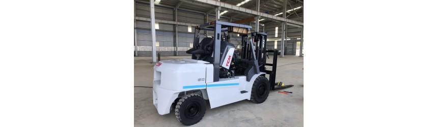 Xe nâng 5 tấn TCM Nhật Bản FD50T9 tại nhà máy tại Quảng Nam T1/2019